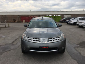 2007 Nissan Murano. CERTIFIED, E TESTED, WARRANTY, NO ACCIDENT