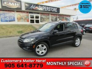 2015 Volkswagen Tiguan Comfortline  NAV LEATHER ROOF CAM HS BT