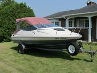 BEAT THE HEAT WITH THIS 19ft 1990 BAYLINER CAPRI