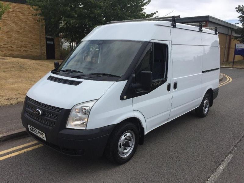 fb0794d0c01649 2013 Ford Transit 2.2 TDCi 280 M Trend Medium Roof 3dr EU5 MWB Manual Panel  Van