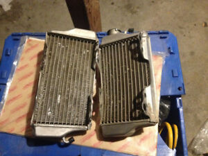 2004 crf450r OEM radiators in mint condition