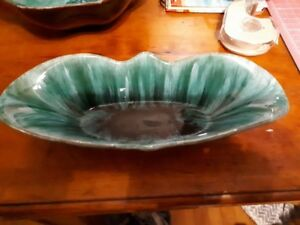 Vintage Canadian pottery - 10.5 x 4.5 tray