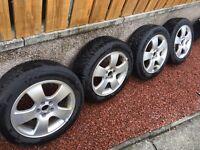 Audi/VW/Skoda/Seat winter wheels 4x100 continental tyres