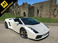 Lamborghini Gallardo Spyder 5.0 V10 520bhp E Gear **Full Lamborghini History**