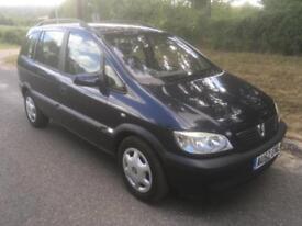 Vauxhall/Opel Zafira 1.6i 16v Comfort 12 MONTHS MOT + DRIVES SUPERB