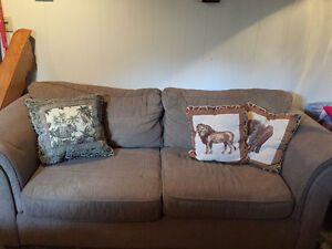 3 Cushion Couch, Chair and Ottoman