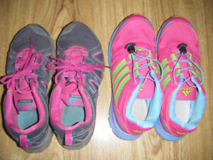 2 Pairs of Sneakers for sale
