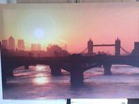 Gorgeous London canvas