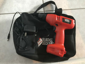 Black and Decker cordless drill