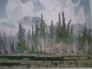 """Full Signature A.J. Casson-""""Morning Mist""""-Limited Edition Print Kitchener / Waterloo Kitchener Area image 7"""