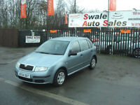 2004 SKODA FABIA 1.2 12V ClASSIC ONLY 104,060 MILES, IDEAL 1ST CAR