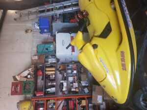 1996 seadoo xp with trailer