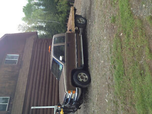 1994 chev WITH PLOW