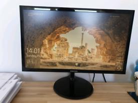 "Samsung Full HD 22"" LED Black Monitor Plus HD X1"