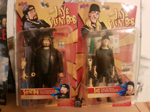 Jay and Silent Bob talking action figures
