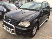 Mercedes-Benz M Class 2.7 ML270 CDI Special Edition 5dr 7 SEATERS SAT NAV