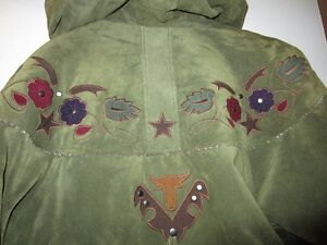 Suade Coat with Hood, Insulated, Woman's size M West Island Greater Montréal image 2