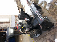 MURRAY 2 stage snow blower for sale