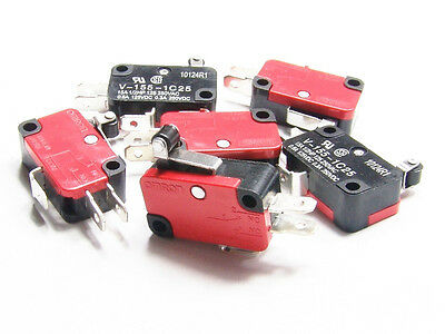 6 X Micro Limit Home Switch Switches Cnc Router Mill Lathe 3d Printer Reprap