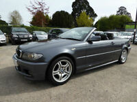 2006 BMW 318 2.0 Ci M SPORT PETROL MANUAL CONVERTIBLE 3 SERIES FULL SERVICE HIST