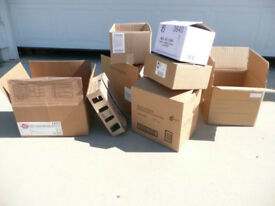 Used cardboard boxes for sale - perfect for moving house!