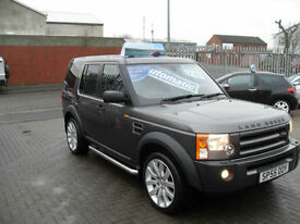 Land Rover Discovery 3 2.7TD V6 auto 2005MY S