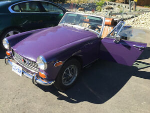 RARE FIND 1974 MIDGET MG