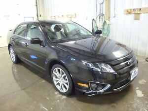 2012 Ford Fusion SEL AWD Sedan with Sport Appearance Package