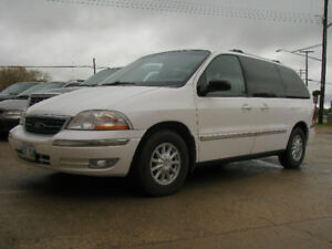 MINT: 2000 Ford Windstar SES Minivan w/ 3.8 V6 Auto (SAFTIED)