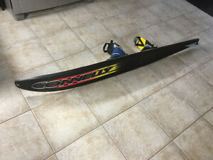 Connelly Concept F3 Double Boot Slalom Water Ski Kitchener / Waterloo Kitchener Area image 2