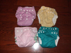 cloth adjustable diapers Kitchener / Waterloo Kitchener Area image 1