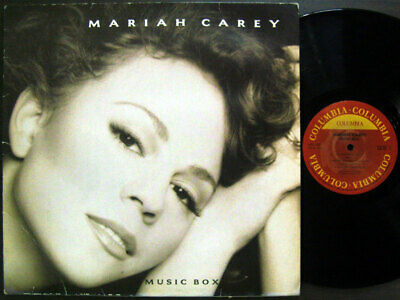 Mariah Carey - Music Box [ 1993 Korea Orig 1st Vinyl ] w/Insert No Barcode VG+