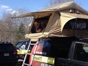 Tente surélevée TEPUI AYER pour toit automobile .