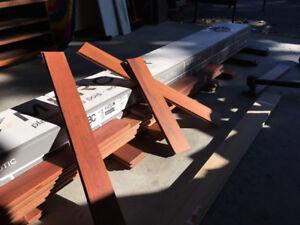 Hardwood flooring--Brazilian cherry