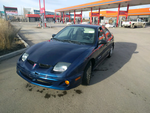 2002 Pontiac Sunfire with new winter tire set