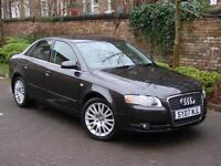 EXCELLENT DIESEL!!! 2007 AUDI A4 2.0 TDI 170 SE 4dr, 6 SPEED, LONG MOT, WARRANTY