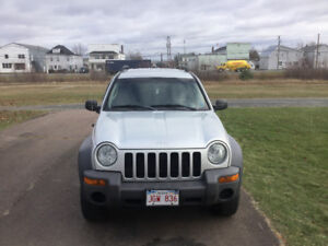 2004 Jeep Liberty Sport SUV, Crossover.      SALE OR TRADE