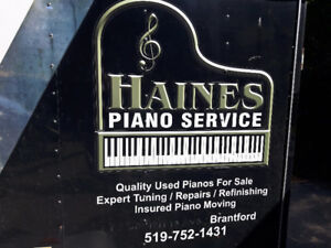 Expert piano moving/tuning