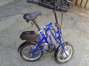 Electric folding bike for sale