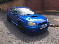 2003 Subaru Impreza uk turbo modified Sti extra