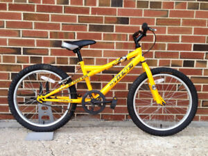 Miele BB 20 - 20-in Single Speed Kids Bike - Yellow