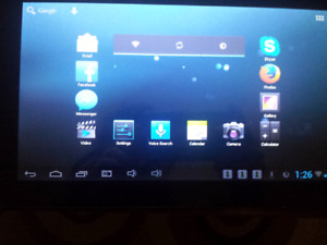 10.1 inch Clu Curtis Tablet with 4mp camera