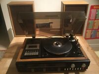 Sanyo record player GXT 4000 music centre
