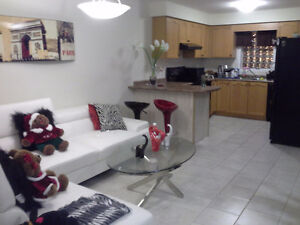 NEW FURNISHED BASEMENT CLOSE TO FOREST GLEN SHOPPING CENTRE. Kitchener / Waterloo Kitchener Area image 1