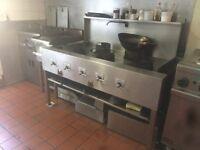 5 wok burner