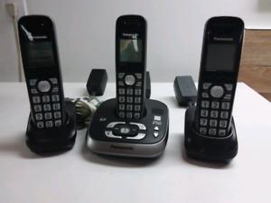 Téléphone sans fils 6.0 Panasonic avec répondeur