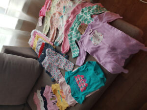 Bundle of baby girl clothes, 3-6 months