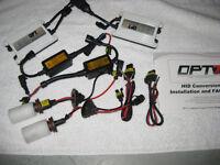 Lumière HID OPT7 Slim AC 55W 6000K H11