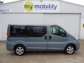 Renault Trafic AUTOMATIC Sport 5 Seat Wheelchair Scooter Accessible MPV WAV