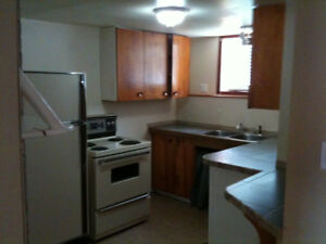 October sublet; 2 BR downstairs Inlaw suite